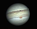 Jupiter mit Mond Io uns schatten von Io_1